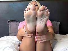 Joi Stroke With Feet In Your Mouth