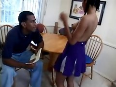 Ebony Cheerleader Passion