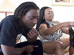 Shaved Bbw Ebony Enjoys Some Good Fucking