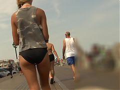 Bikini Teen Sexy Walk Graz 20