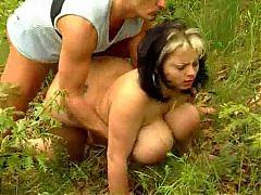 Big Boobs Bbw Get Laid In The Wood