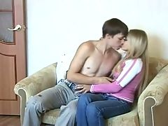 Sweet Blond Teen With Awesome Body Is Fucked
