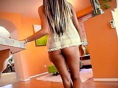 Horny Teen Takes A Big One From The Back