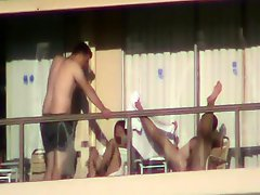 Another Balcony Fuck Part 3 Of 6
