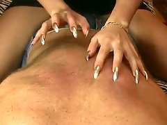 Silver Nails Scratching