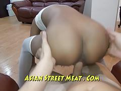 Street Waif On Hot Offer In Asian Slum