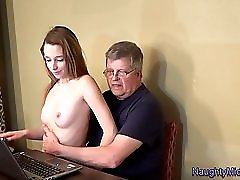 Lola Hunter Babysitter Breeding Table Fantasy